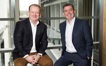 James Madigan (Accenture) and Andrew McAdams (PrimeQ)