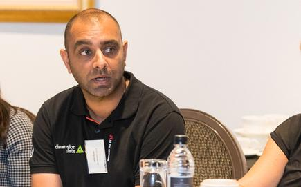 Diljit Bolla (Dimension Data)