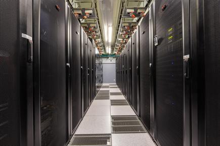Datacom Gloucester data centre interior
