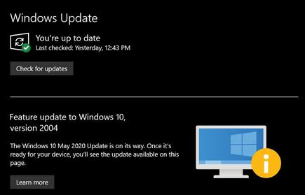 You'll need the Windows 10 May 2020 Update (version 2004) to activate hardware-accelerated GPU scheduling