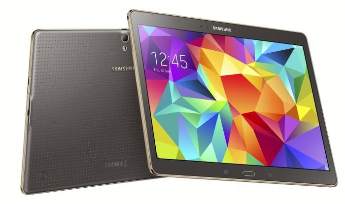 The 10.5-inch Galaxy Tab S.