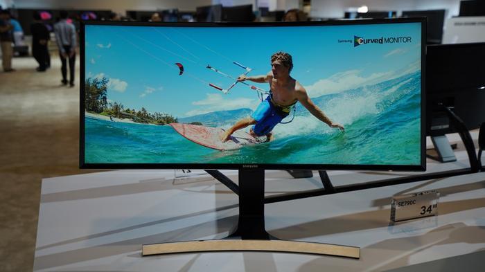 Samsung's SE790C 34-inch monitor