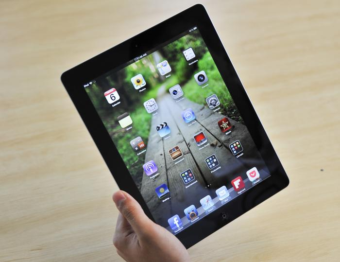 The 4th Generation iPad is identical in design to the 3rd Generation model.