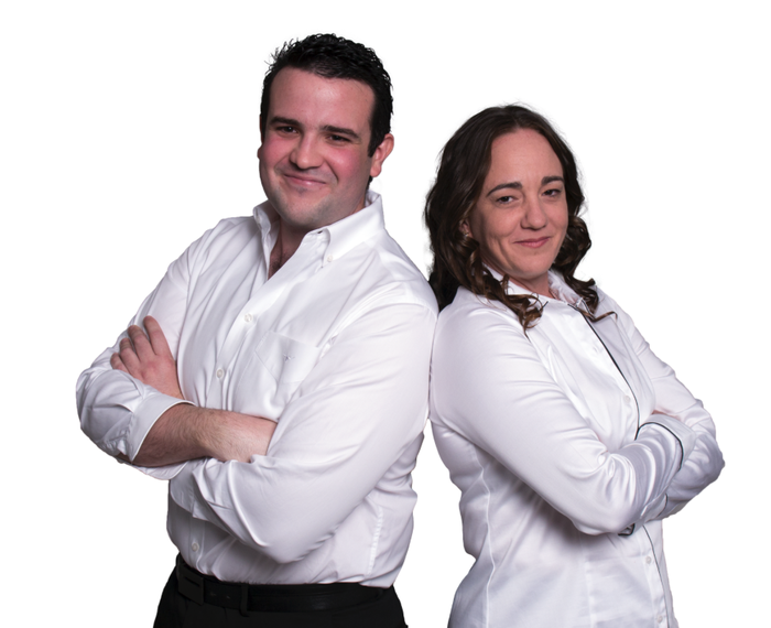 Daniel Ladlow and Sonia Malady - Director, CTO and co-director, Tropical Business Solutions