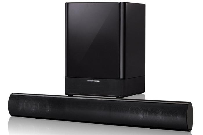 The Harman/Kardon SB30 soundbar: one of the products coming shortly to JB Hi-Fi.